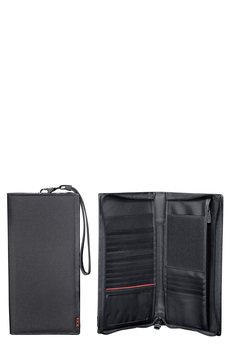 TUMI Alpha Zip Travel Case, Main, color, 001