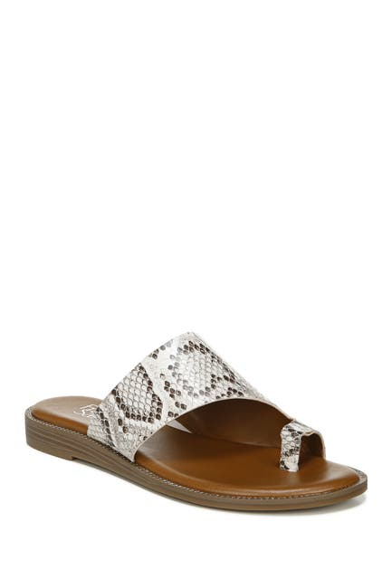Image of Franco Sarto Gem Snakeskin Embossed Sandal