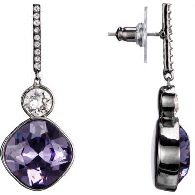 Nina Swarovski Crystal Drop Earrings