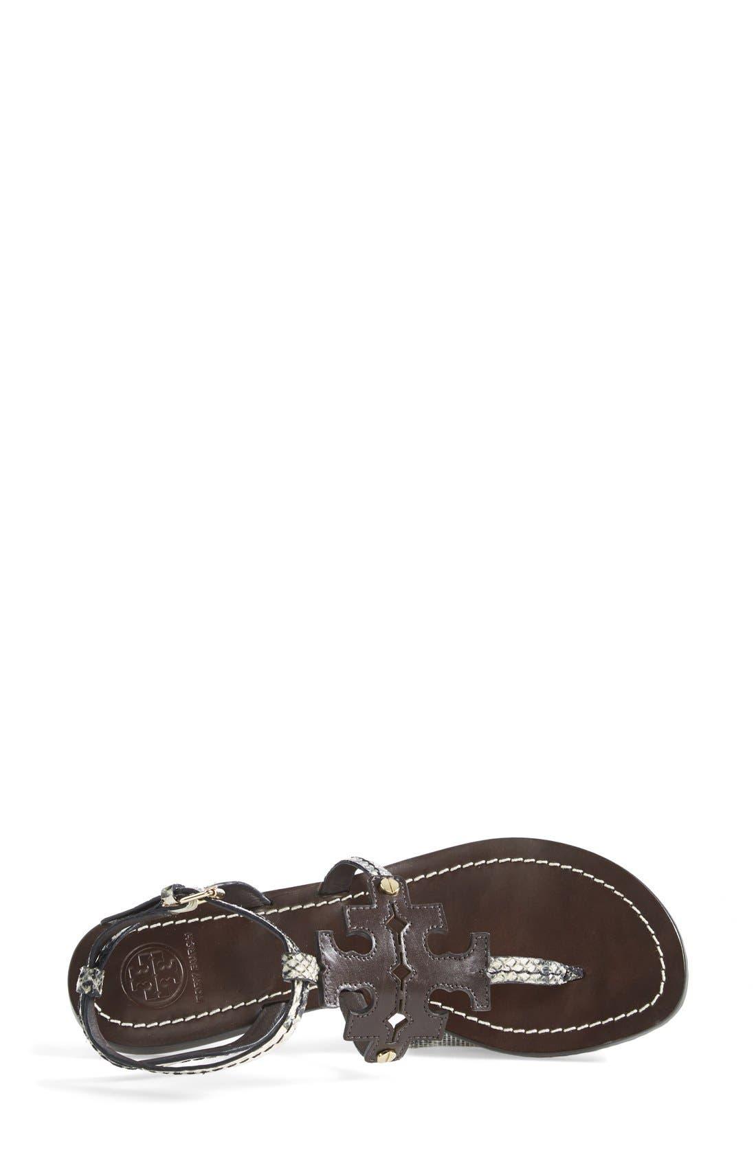 ,                             'Chandler' Leather Sandal,                             Alternate thumbnail 4, color,                             200