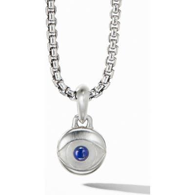 David Yurman Evil Eye Amulet With Lapis Lazuli