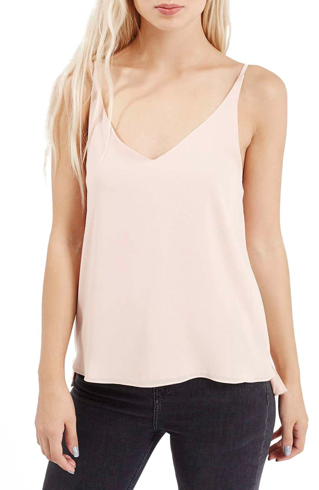 ,                             Strappy V-Neck Camisole,                             Main thumbnail 63, color,                             680