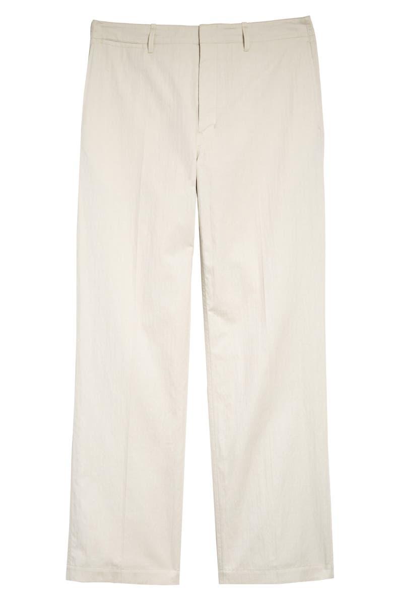 LEMAIRE Straight Leg Chino Pants, Main, color, CAVIAR
