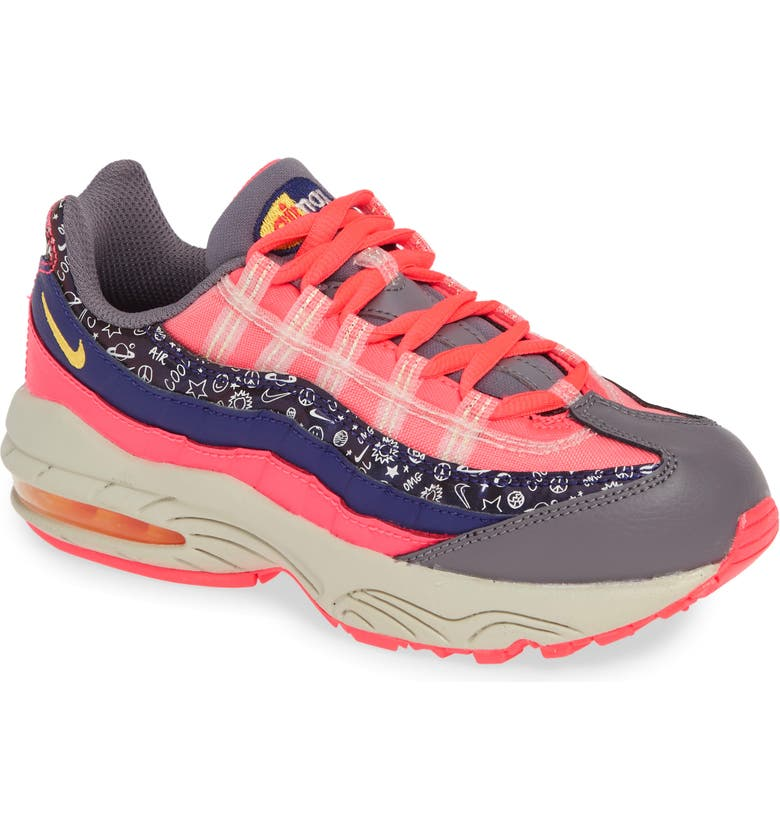 NIKE Air Max 95 Sneaker, Main, color, 500