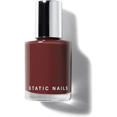 Static Nails Liquid Glass Nail Lacquer - Fully Caffeinated