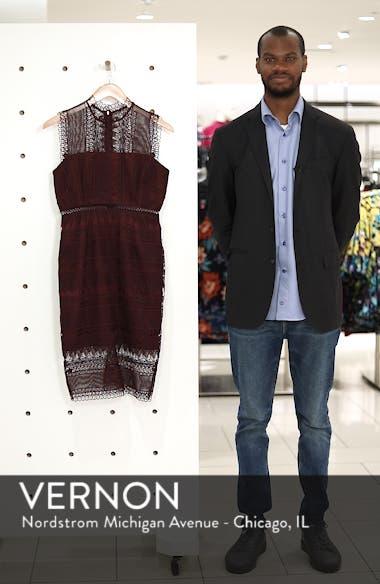 Mariana Lace Body-Con Dress, sales video thumbnail