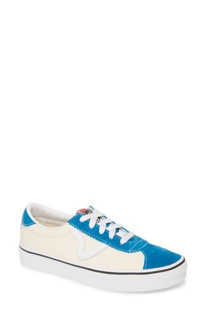 Vans Sport Low Top Sneaker In Turkish Tile/ Classic White