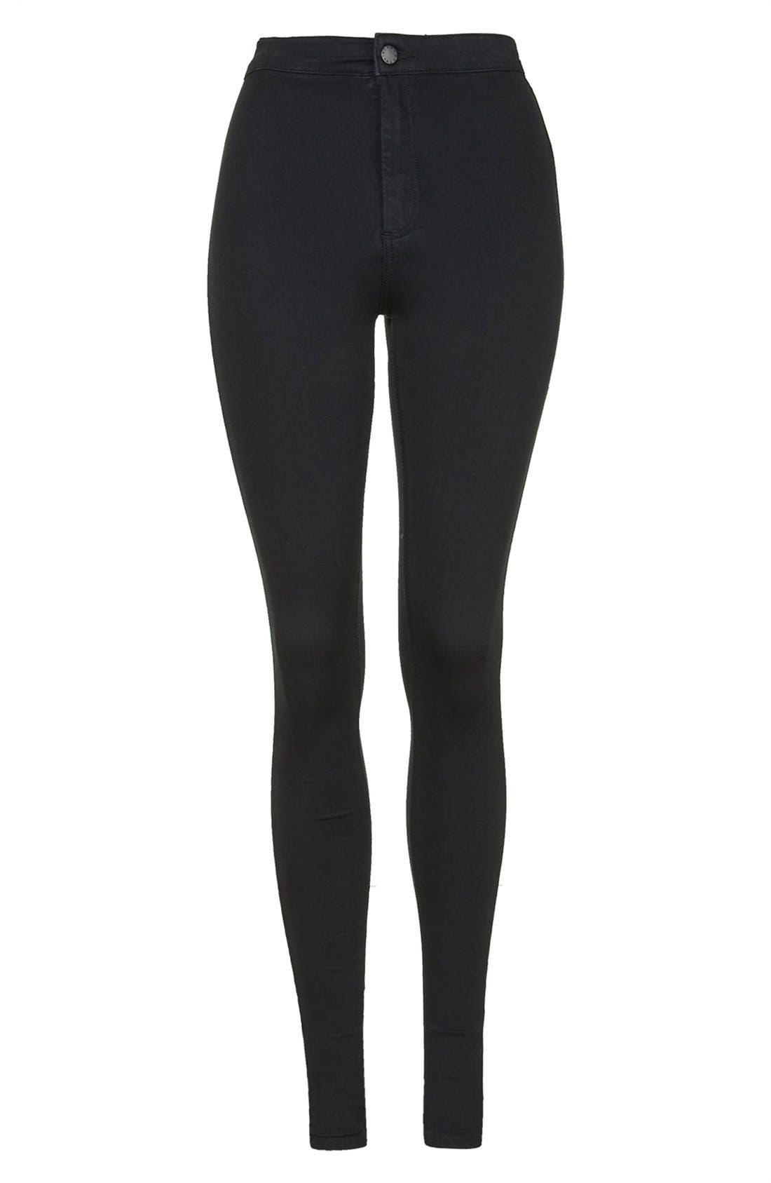 ,                             Joni High Waist Ankle Skinny Jeans,                             Alternate thumbnail 2, color,                             001