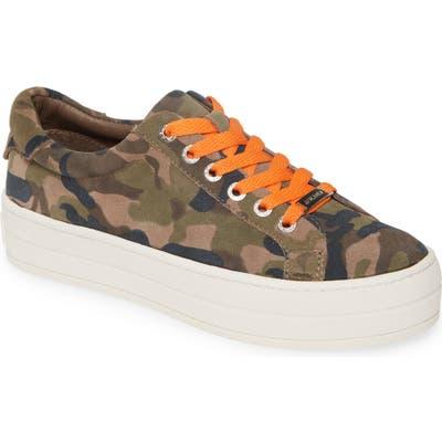 Jslides Hippie Platform Sneaker- Green