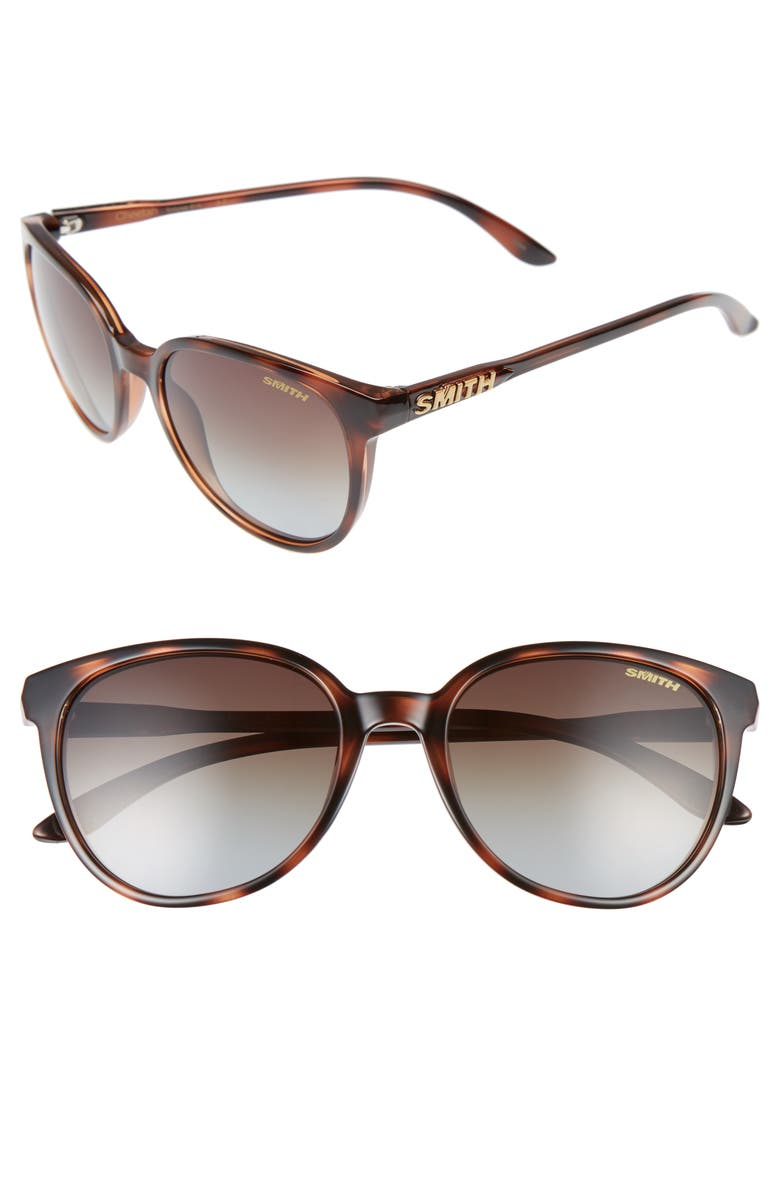 SMITH Cheetah 54mm Polarized Sunglasses, Main, color, TORTOISE