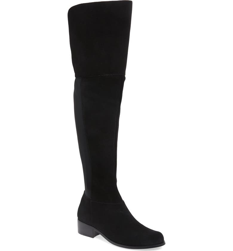 CHARLES BY CHARLES DAVID 'Giza' Over the Knee Boot, Main, color, 002