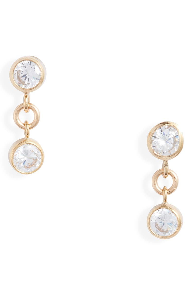 SET & STONES Sadie Drop Earrings, Main, color, GOLD