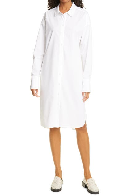 BIRGITTE HERSKIND Cottons NILLY LONG SLEEVE ORGANIC COTTON SHIRTDRESS