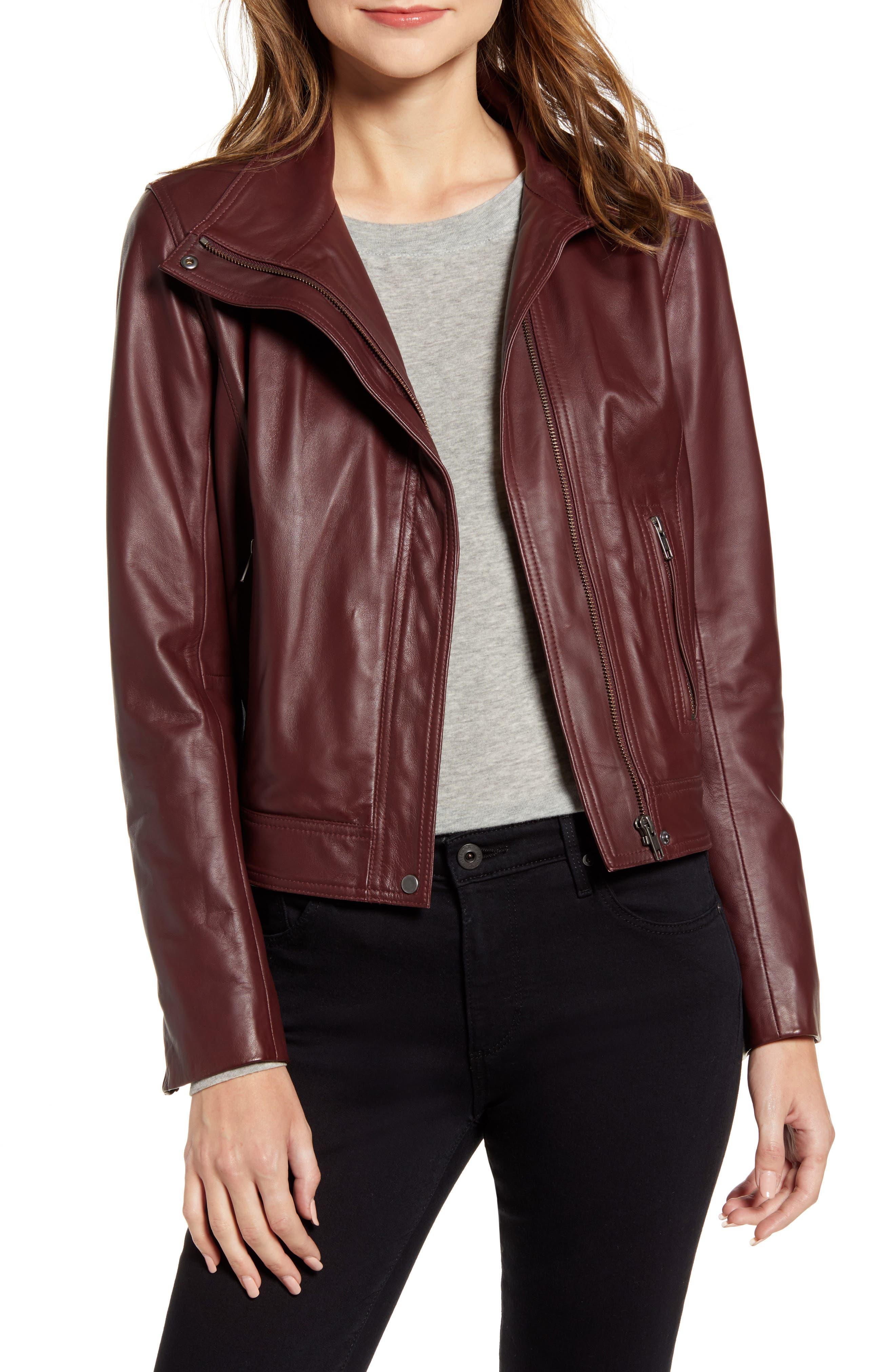 Chelsea 28 Leather Moto Jacket