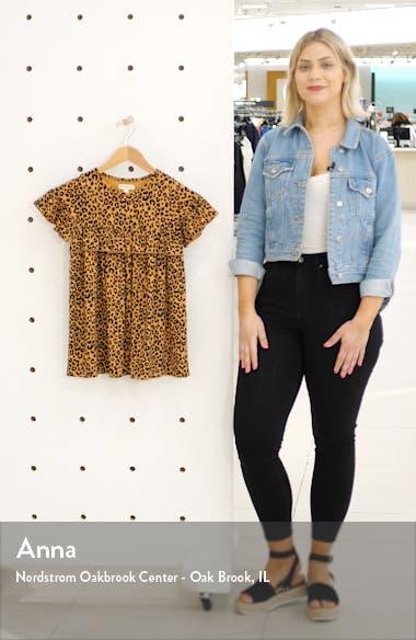 Print Ruffle Dress, sales video thumbnail