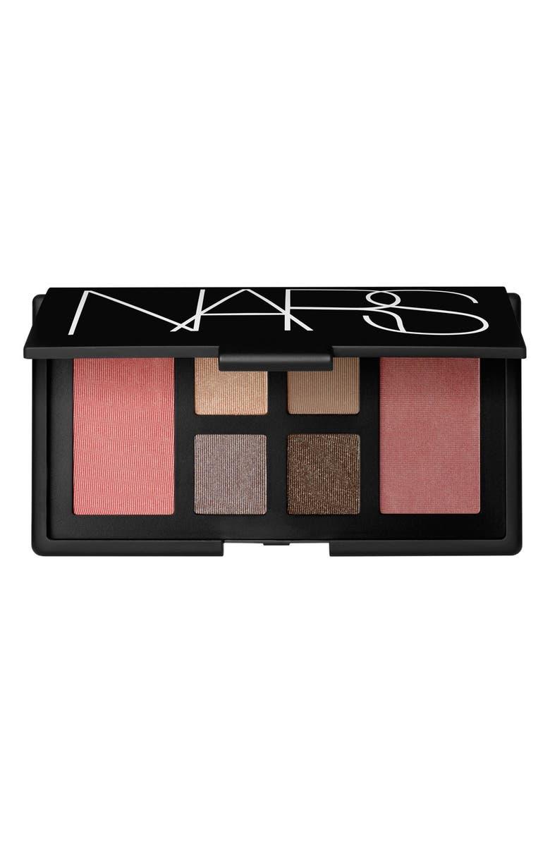 NARS 'Voulez Vous' Cheek & Eye Palette, Main, color, 000