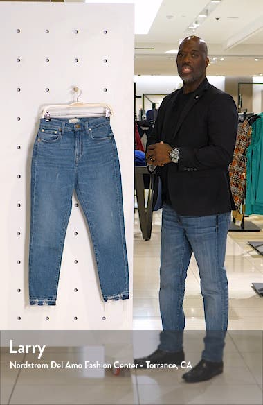 The High Rise Slim Boy Jeans, sales video thumbnail