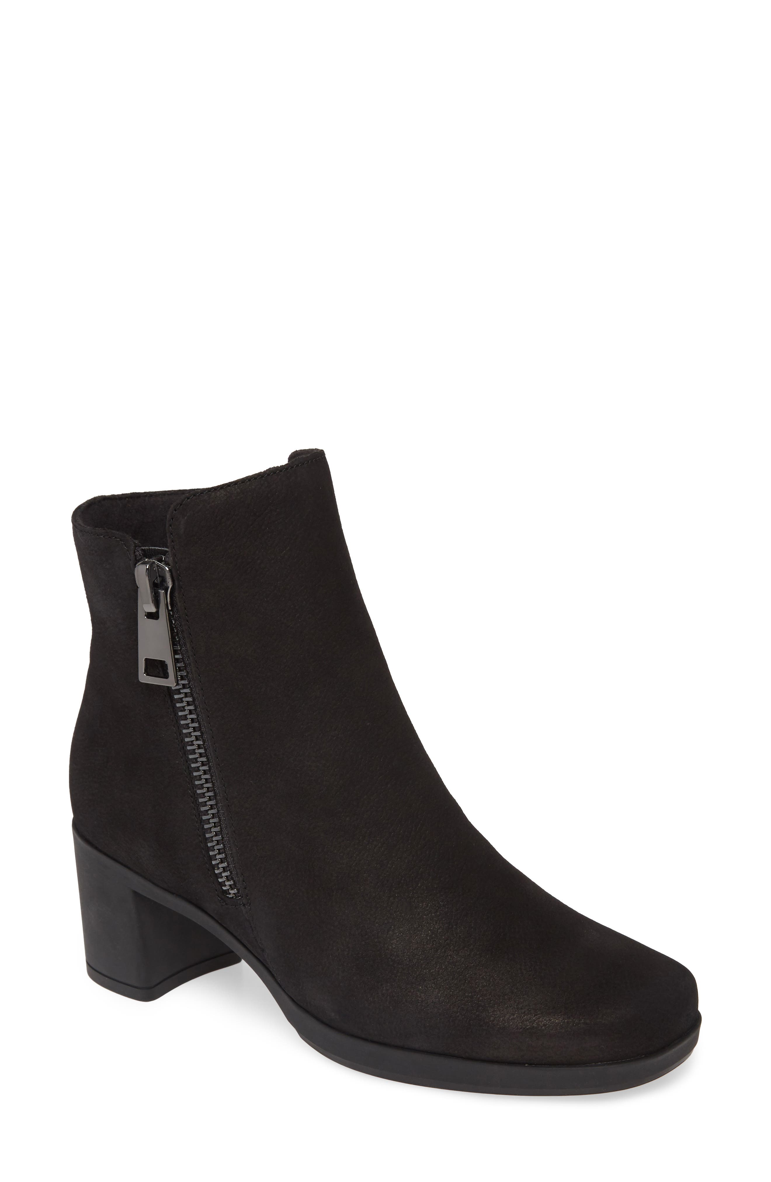 Understated sophistication and custom comfort are the name of the game with a block-heel bootie in a suave, streamlined silhouette. Style Name: Munro Devon Bootie (Women). Style Number: 5858885. Available in stores.