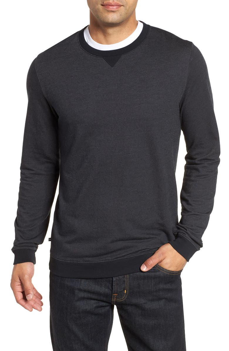 TRAVISMATHEW Fink Sweatshirt, Main, color, 001