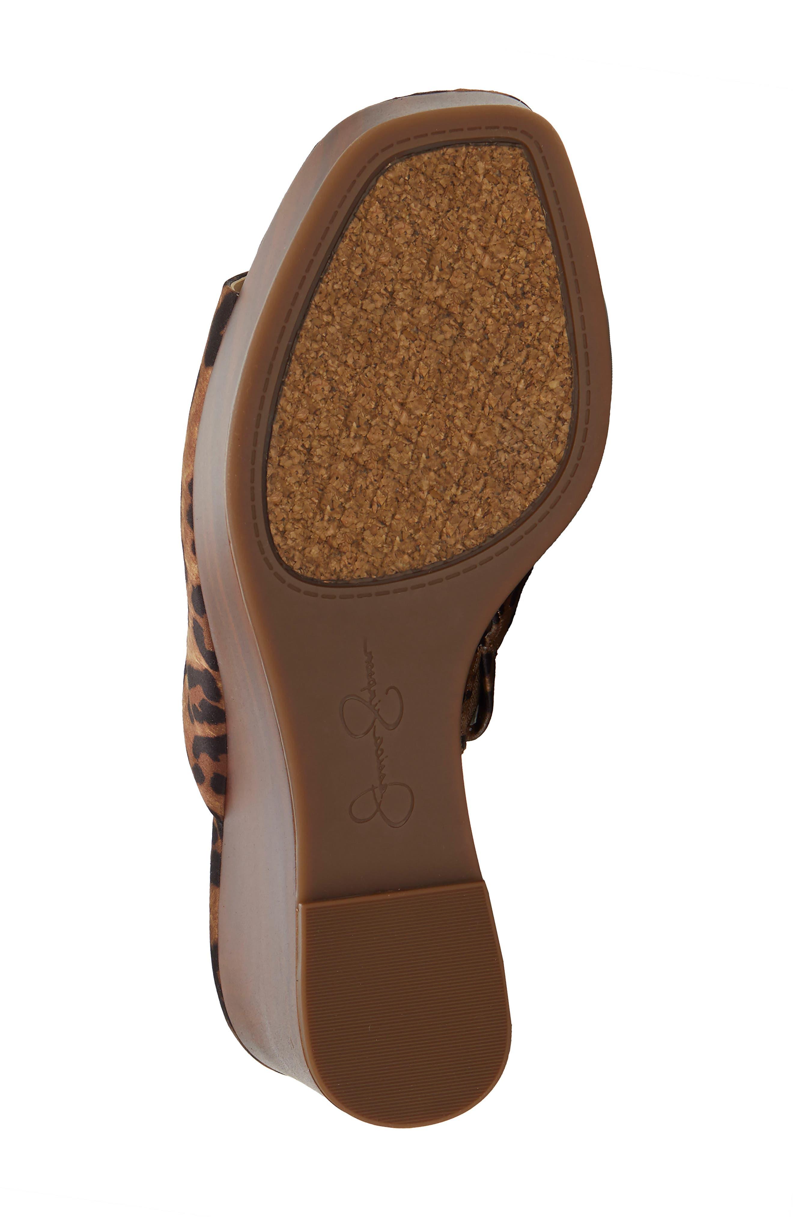 ,                             Shantelle Wedge Slide Sandal,                             Alternate thumbnail 6, color,                             NATURAL FABRIC