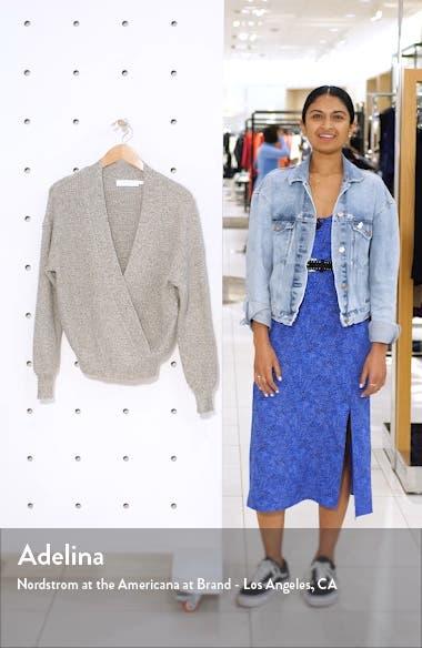 Stephanie Surplice Sweater, sales video thumbnail