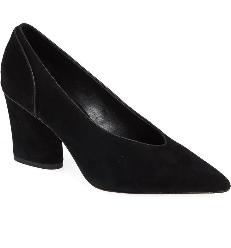 DONALD PLINER Glenn Pointy Toe Pump, Main, color, 001