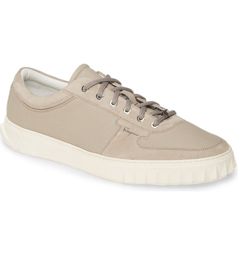 SALVATORE FERRAGAMO Scuby Sneaker, Main, color, CLAY