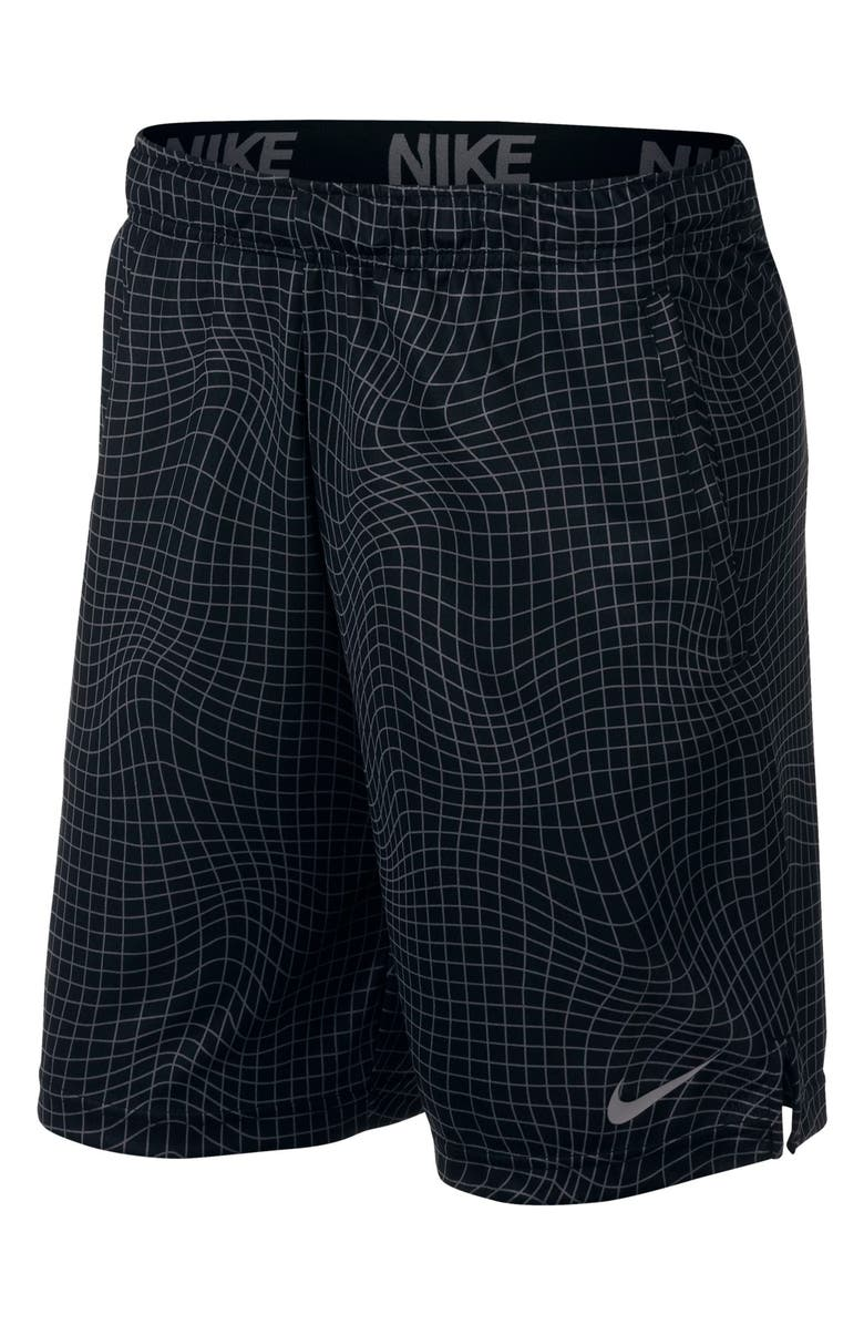 NIKE Dri-FIT Print 4.0 Shorts, Main, color, 010