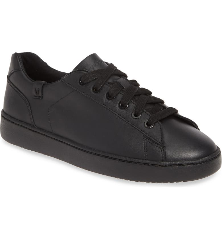 VIONIC Mable Sneaker, Main, color, BLACK LEATHER