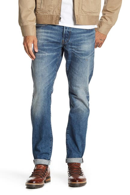 Image of G-STAR RAW 3301 Straight Tapered Leg Jeans