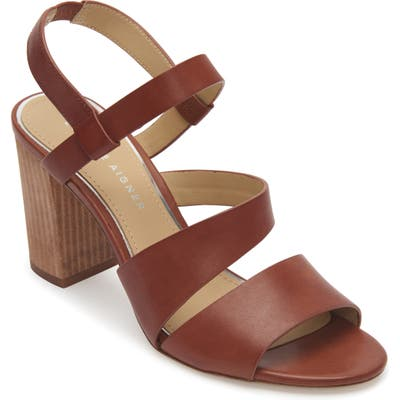 Etienne Aigner Lane Block Heel Sandal, Brown