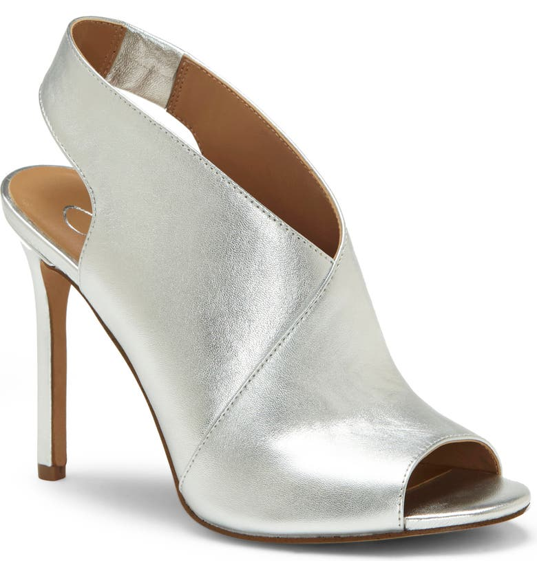 JESSICA SIMPSON Jourie 2 Sandal, Main, color, PLATINUM NAPPA LEATHER