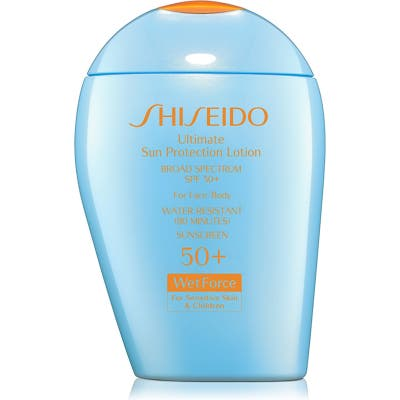 Shiseido Ultimate Sun Protection Lotion For Sensitive Skin & Children Broad Spectrum Spf 50+