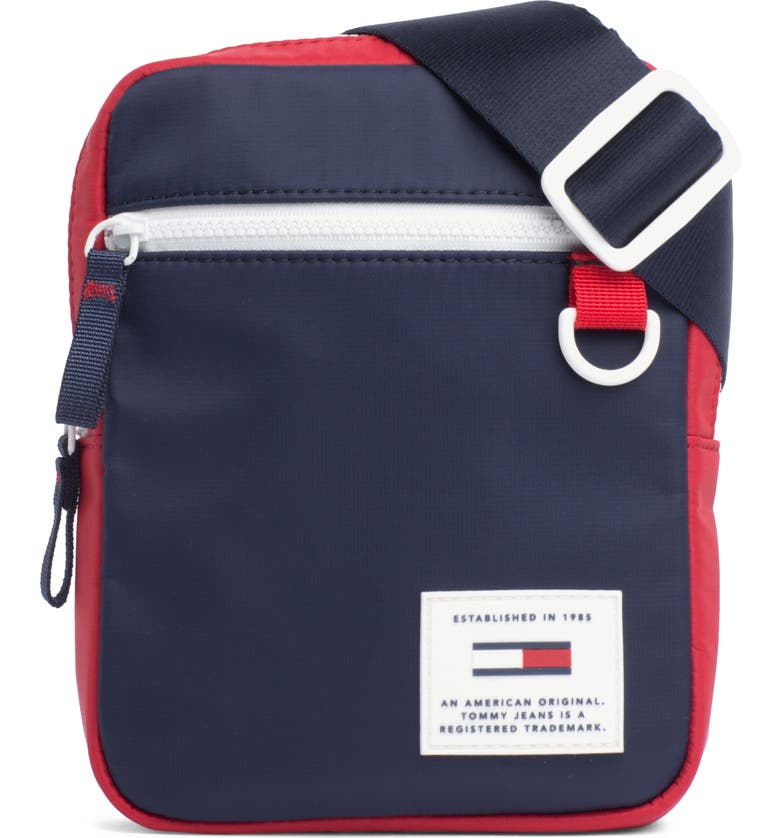 TOMMY JEANS Urban Tech Reporter Crossbody Bag, Main, color, CORPORATE NAVY