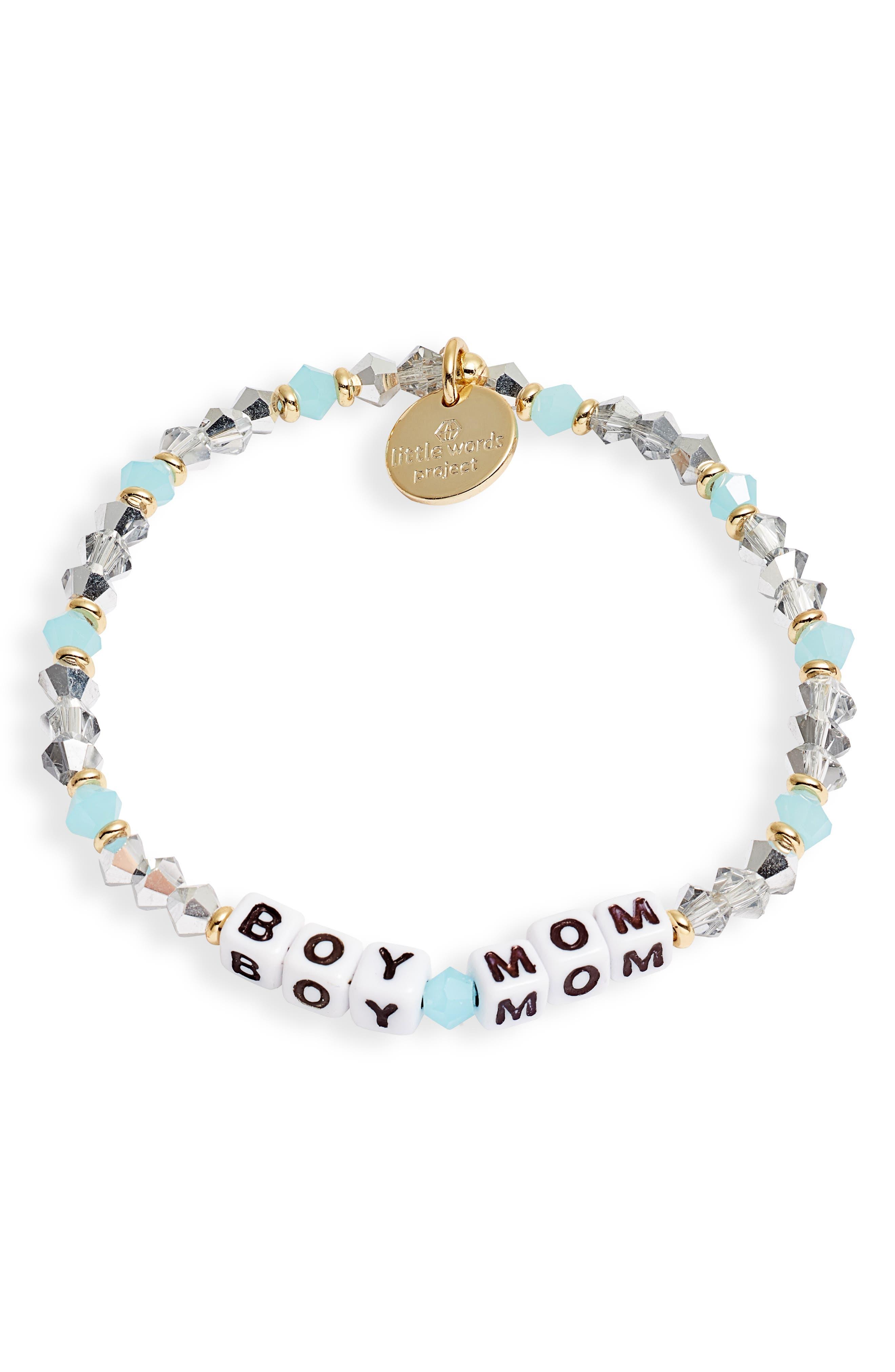 Boy Mom Stretch Bracelet