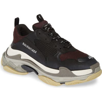 Balenciaga Triple S Retro Sneaker, Black