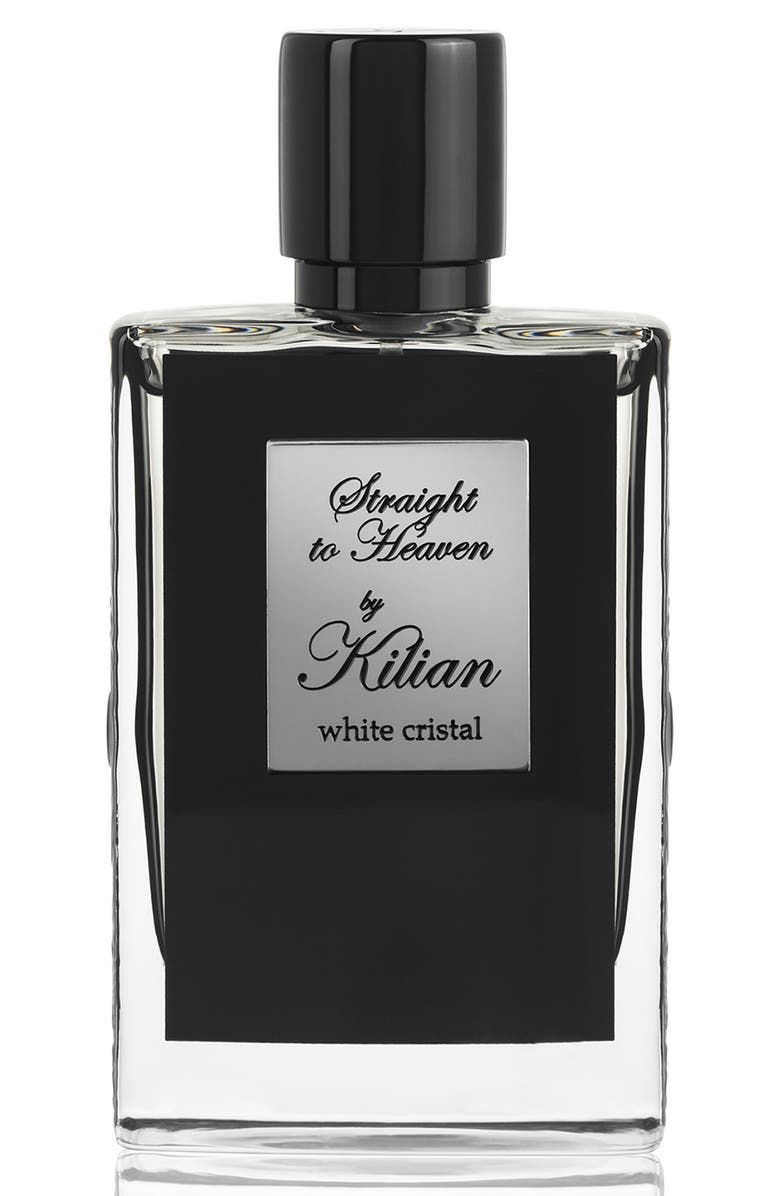 KILIAN LOeuvre Noire - Straight to Heaven, white cristal Refillable Fragrance Spray, Main, color, 000