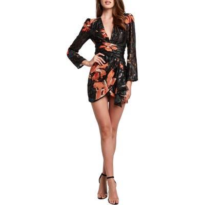 Bardot Sandie Long Sleeve Minidress