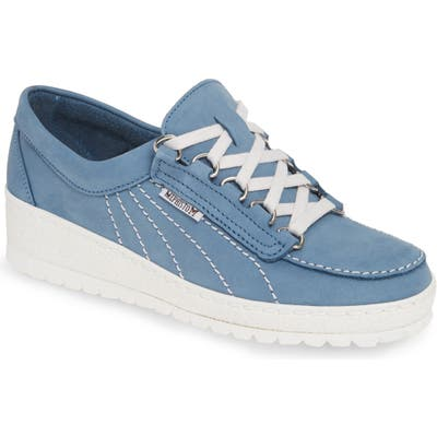 Mephisto Lady Low Top Sneaker- Blue