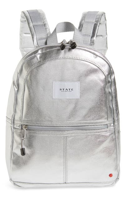 State MINI KANE BACKPACK - METALLIC