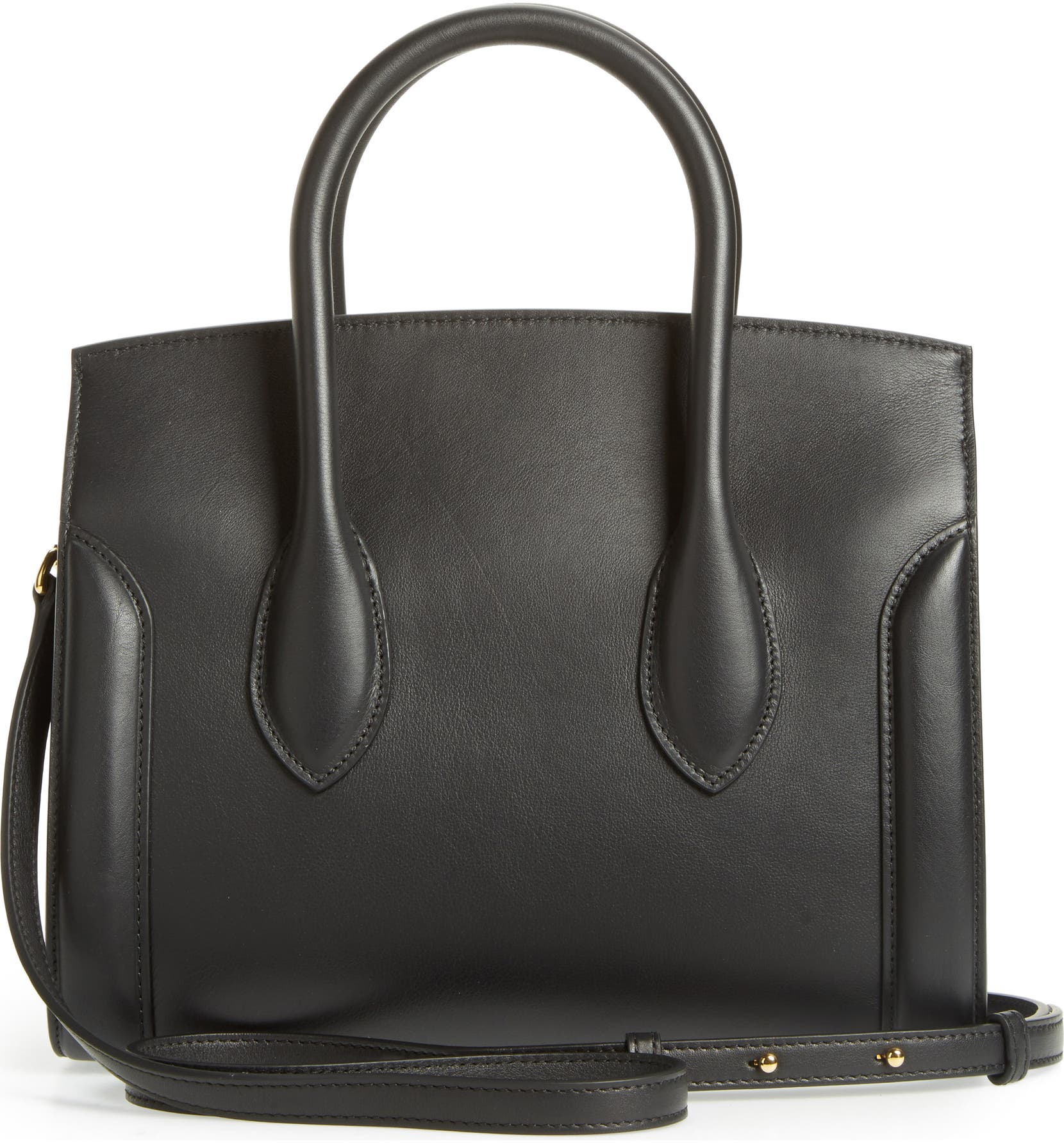 975fa9f357614 Alexander McQueen Heroine 30 Sweet Calfskin Leather Shopper | Nordstrom