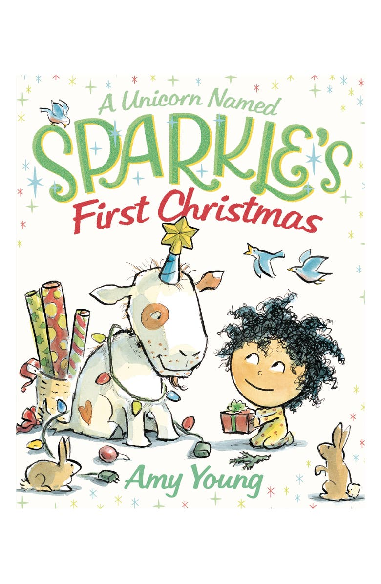 MACMILLAN 'A Unicorn Named Sparkle's First Christmas' Book, Main, color, 100