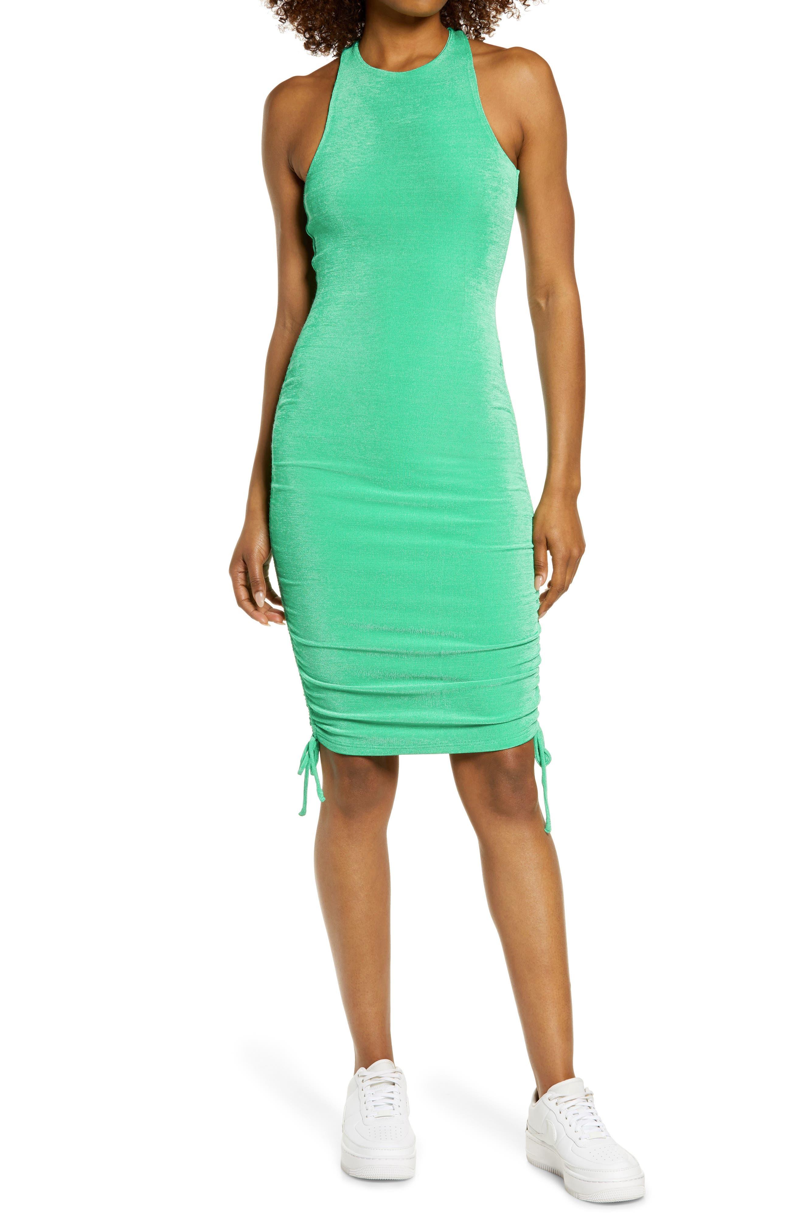 Women's By. dyln Drawstring Body-Con Dress