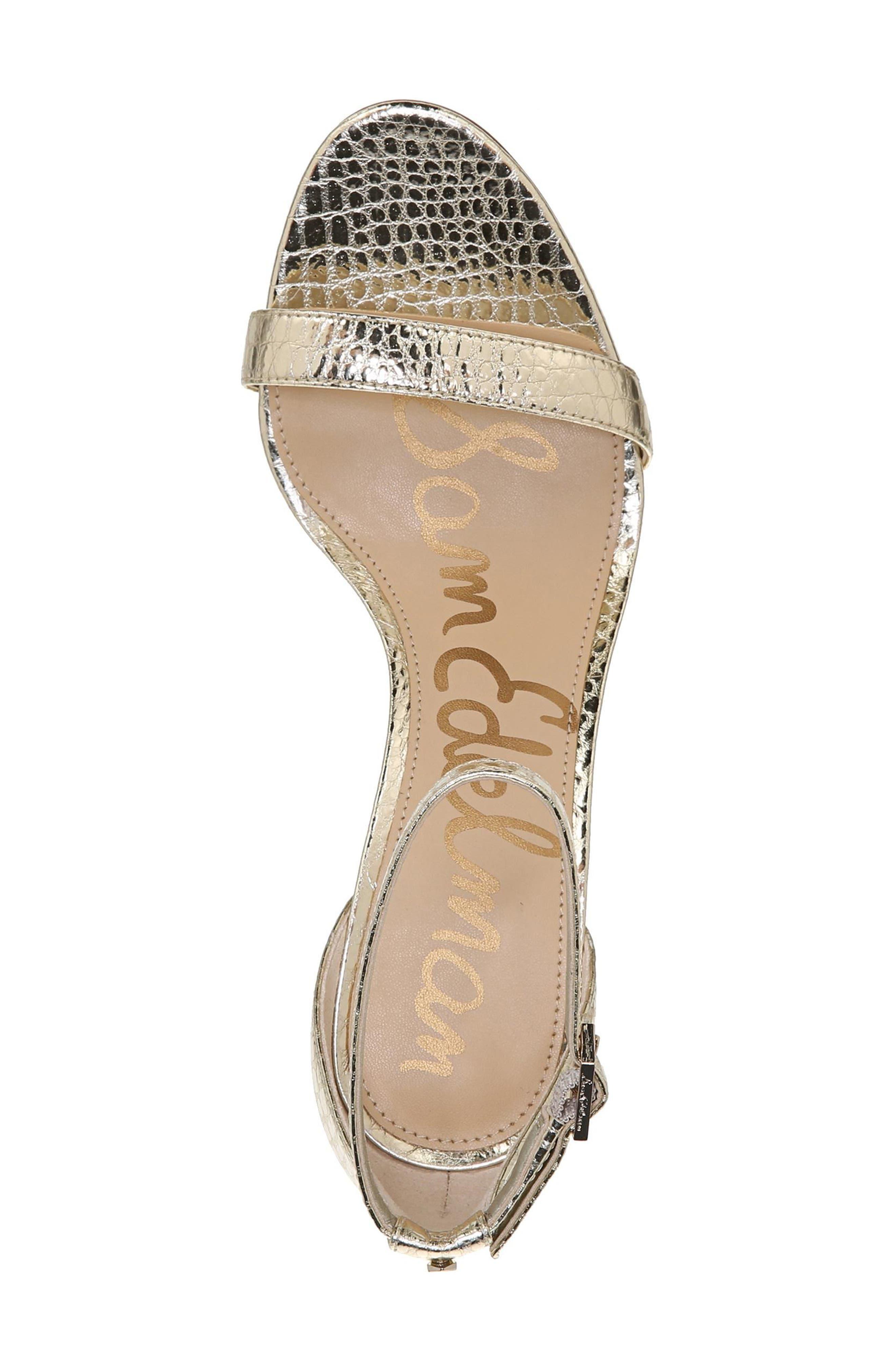 ,                             'Patti' Ankle Strap Sandal,                             Alternate thumbnail 138, color,                             909