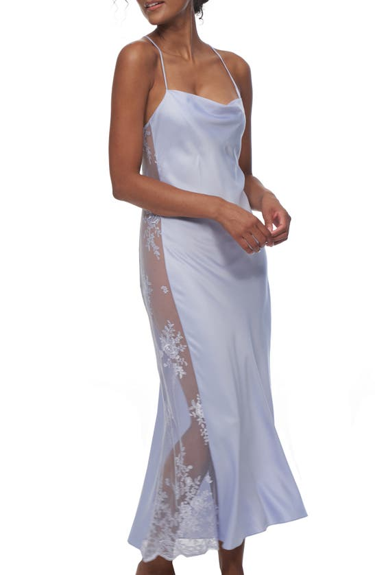 Rya Collection Downs DARLING SATIN & LACE NIGHTGOWN