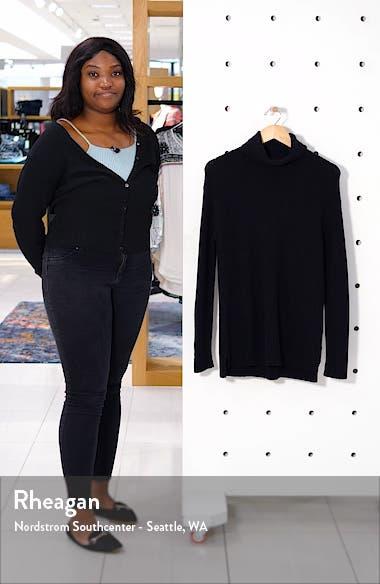 Textured Turtleneck Sweater, sales video thumbnail