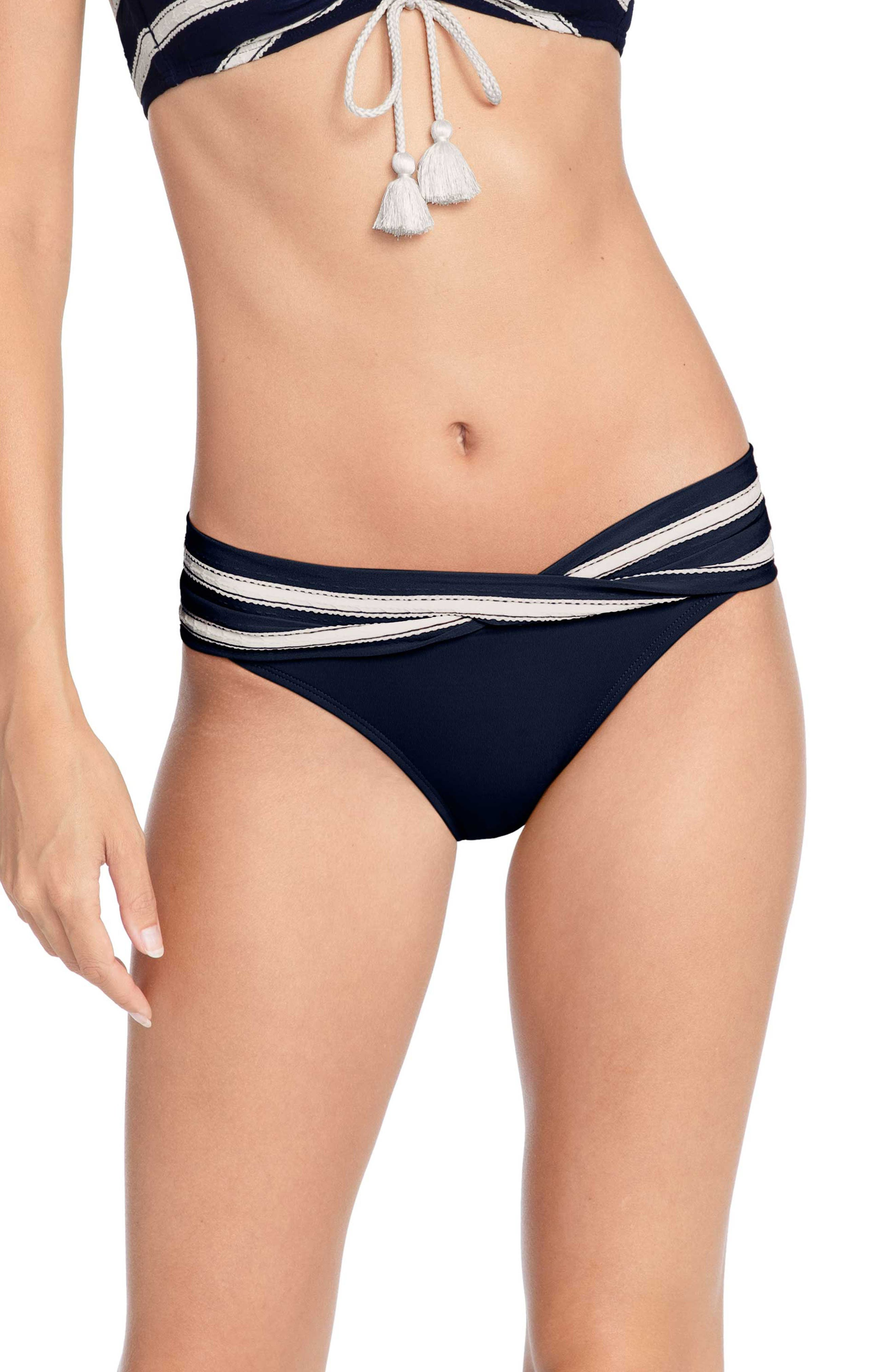 Image of Robin Piccone Abi Twist Hipster Bikini Bottoms