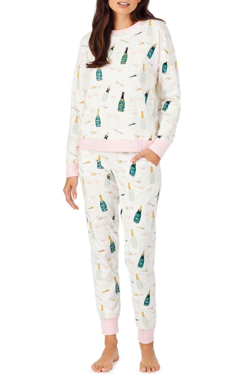 BEDHEAD PAJAMAS Cheers Jogger Pajamas, Main, color, 250