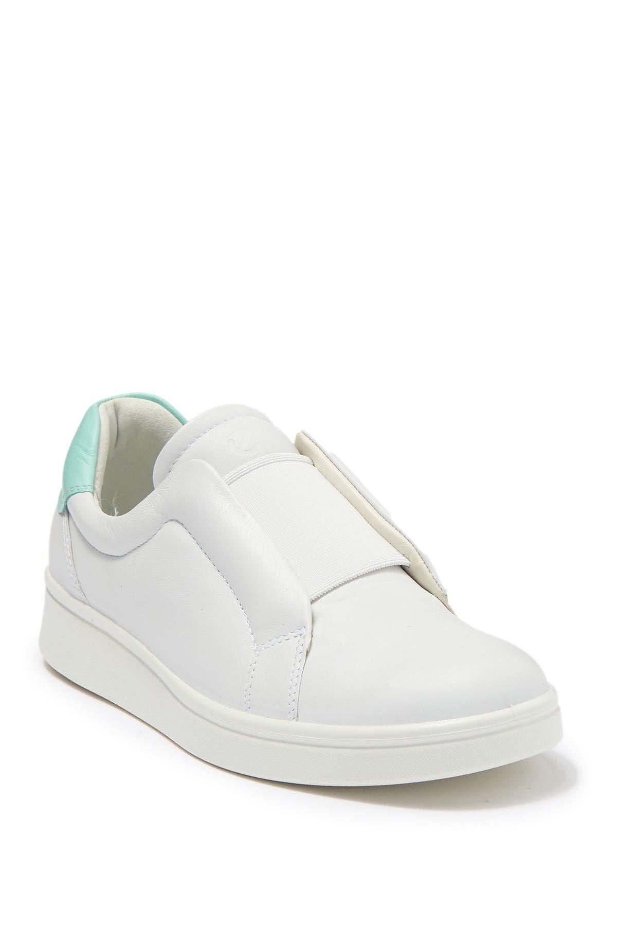 ECCO | Soft 4 Leather Slip-On Sneaker