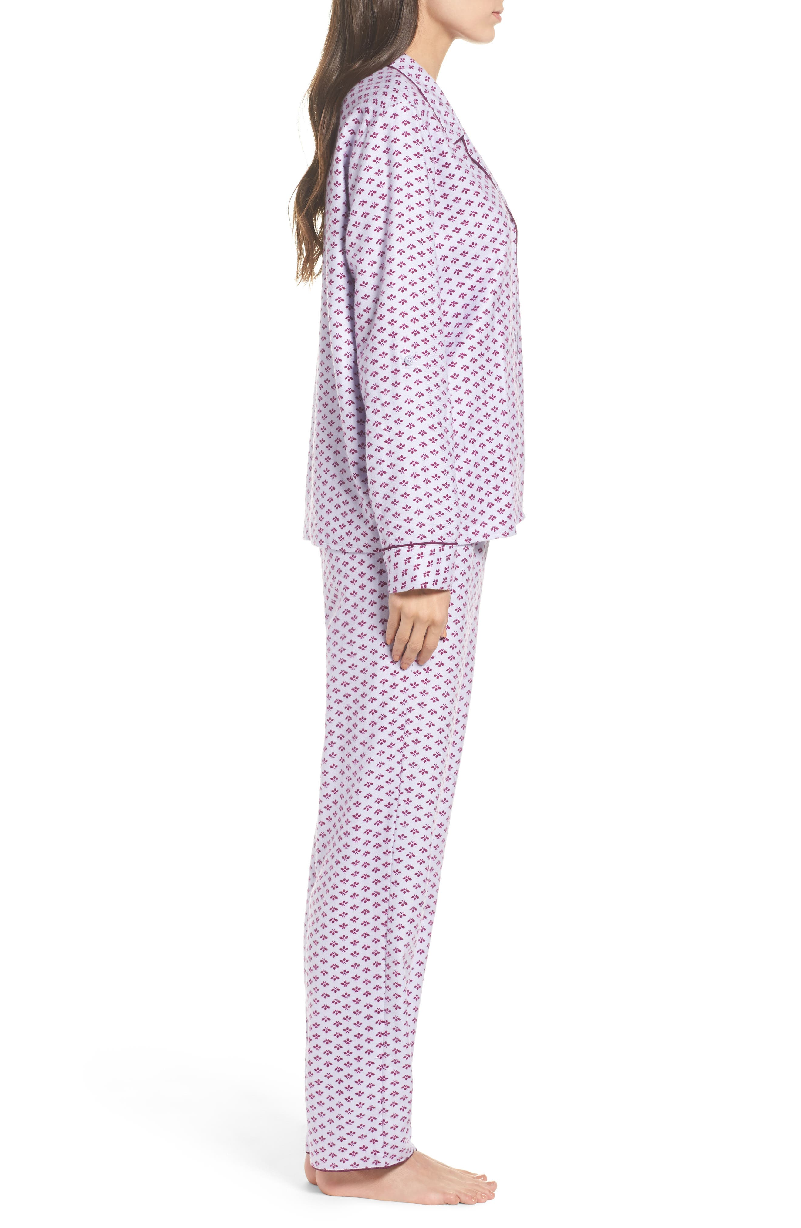 ,                             Lingerie Starlight Flannel Pajamas,                             Alternate thumbnail 11, color,                             530